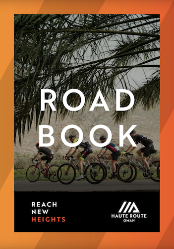 Haute Route Oman Rider Guide Book 2020