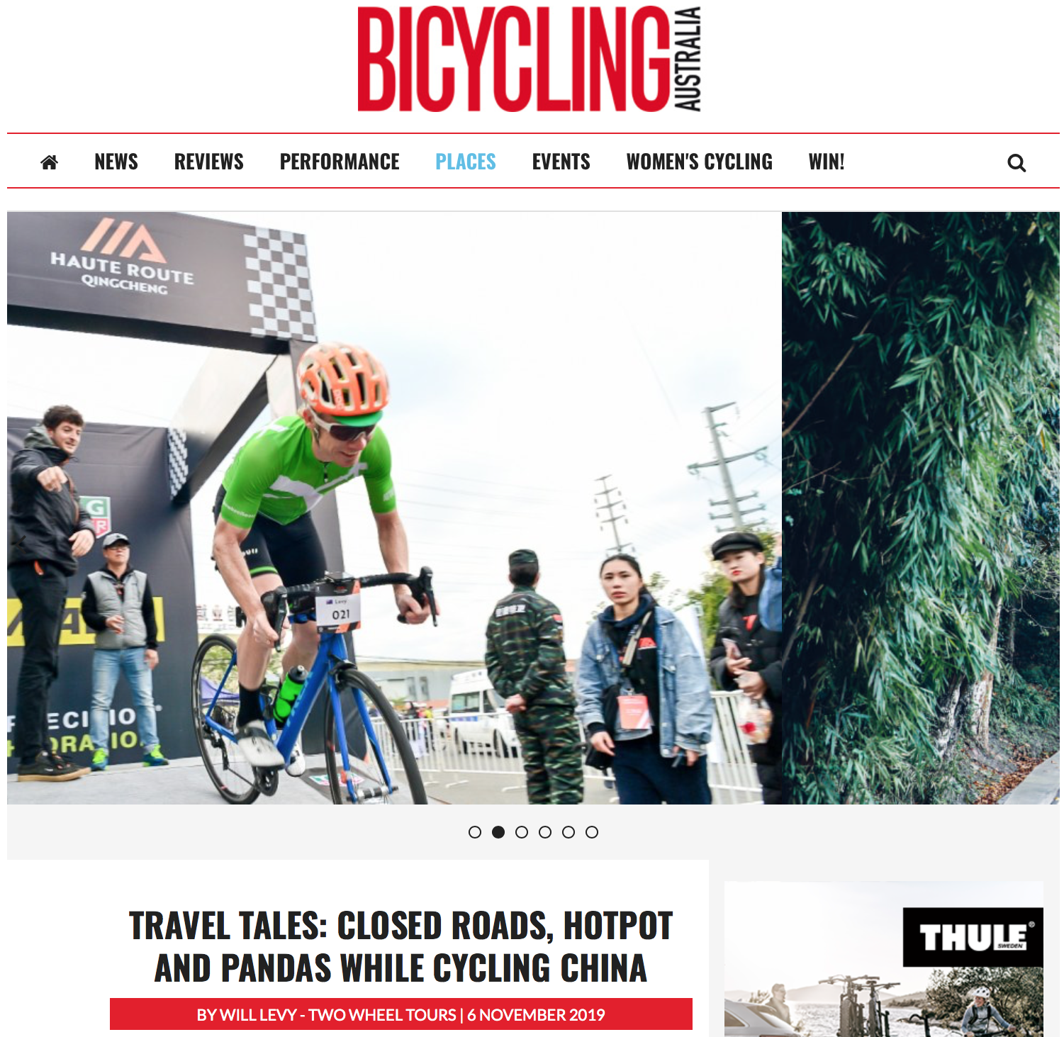 Bicycling Australia Editorial HR Qingcheng 2019