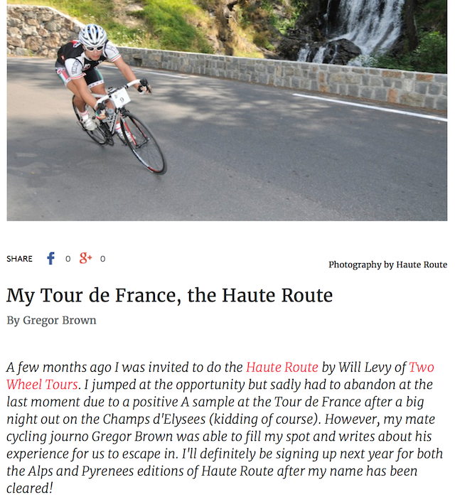 Cycling Tips Blog Greggor Brown
